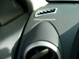 Dashboard ventilatieroosters ls+rs coverset