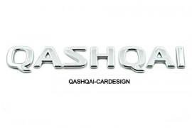 QASHQAI logo achterklep