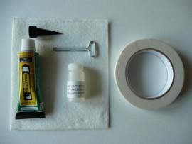 Montage set kit voor extra bevestiging