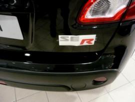 SE-R sticker achterklep QASHQAI
