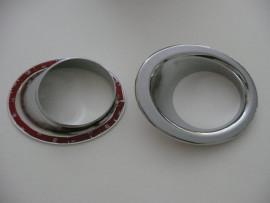 ABS Verchroomde Mistlamp covers tot 2010