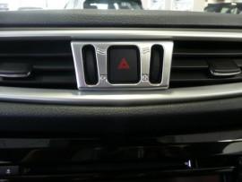 ABS Chrome Middenventilatie bediening cover