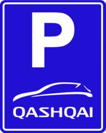 parkeerbord QASHQAI