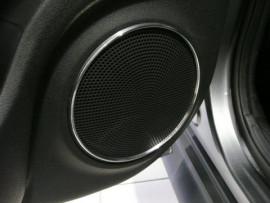 Design ringen voor deurspeaker roosters rear