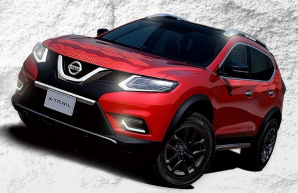 NISSAN X-TRAIL MODEL 2016