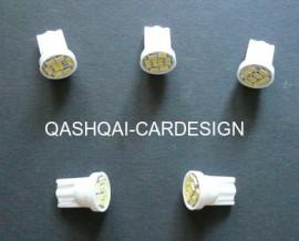 5x LED Verlichting alle QASHQAI en JUKE