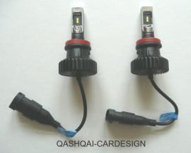 LED DIMLICHT LAMPENSET J11 en X-TRAIL